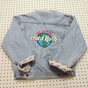 Hard Rock Cafe New York Vintage Jean Jacket